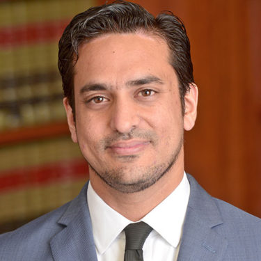 Amjad M. Khan is a complex business litigation attorney in Los Angeles
